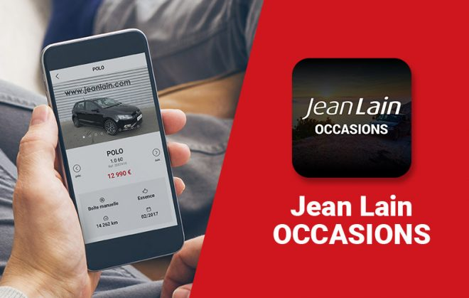 Application Jean Lain Occasion