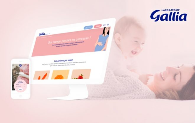 laboratoire gallia site mobile first