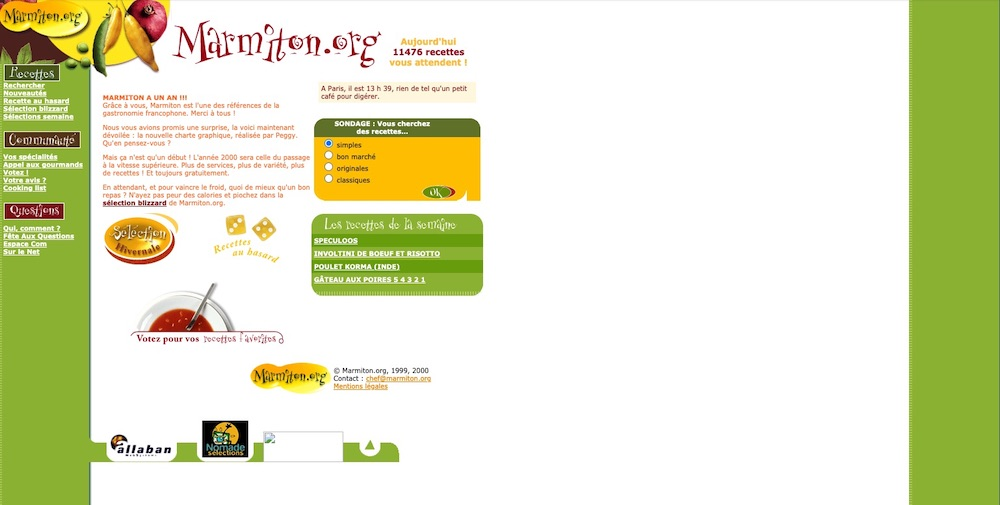 exemple site web html